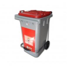 85 Litre Plastik Pedallı Sıfır Atık Geri Dönüşüm Kovası (Pil Atıklar)