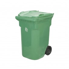 360 Litre Plastik Çöp Konteyneri