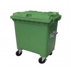 660 Litre Plastik Çöp Konteyneri