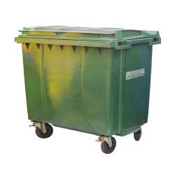 1100 Litre Plastik Çöp Konteyneri