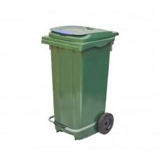120 Litre Plastik Pedallı Çöp Konteyneri
