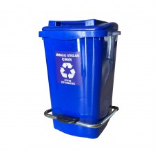 45 Litre Ambalaj Atık Plastik Sıfır Atık Konteyneri