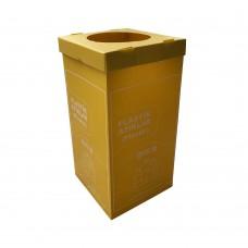 Plastik Sıfır Atık Geri Dönüşüm Kutusu 70 Litre